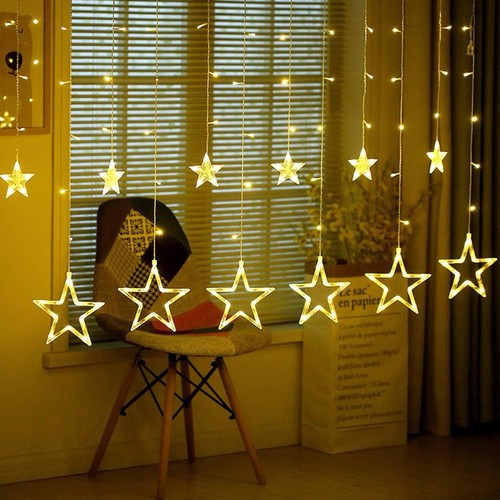 Đèn nháy mành hình ngôi sao - màu trằng - vàng - 12829585 , 20763760 , 15_20763760 , 150000 , Den-nhay-manh-hinh-ngoi-sao-mau-trang-vang-15_20763760 , sendo.vn , Đèn nháy mành hình ngôi sao - màu trằng - vàng