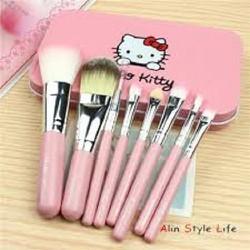 Bộ cọ trang điểm cá nhân Hello Kitty