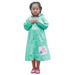 Áo mưa trẻ em cao cấp - Mèo con size 6 - RANDO