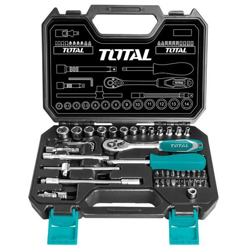 4-14mm Bộ tuýp 45 chi tiết Total THT141451 - 5615070 , 9479696 , 15_9479696 , 570000 , 4-14mm-Bo-tuyp-45-chi-tiet-Total-THT141451-15_9479696 , sendo.vn , 4-14mm Bộ tuýp 45 chi tiết Total THT141451