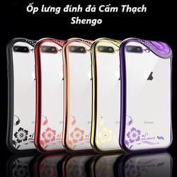 Ốp Lưng Đính Đá Cẩm Thạch iPhone 6, 6s