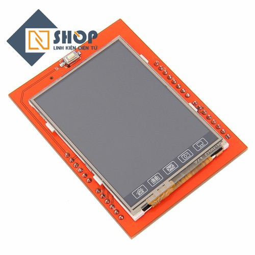 Màn hình cảm ứng Arduino TFT Shield 2.4 inch - 5620077 , 9490272 , 15_9490272 , 112000 , Man-hinh-cam-ung-Arduino-TFT-Shield-2.4-inch-15_9490272 , sendo.vn , Màn hình cảm ứng Arduino TFT Shield 2.4 inch