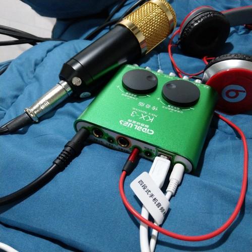 Souncard Âm thanh KX3 thu âm Karaoke cực đỉnh