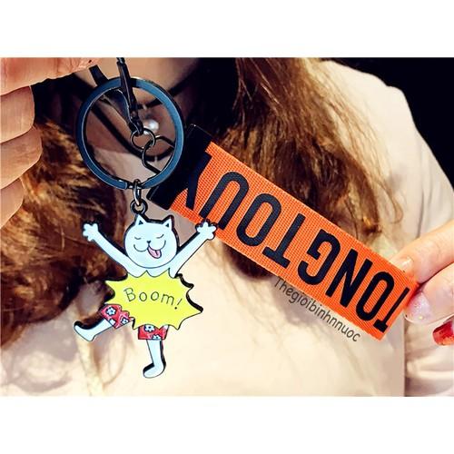 Móc Khóa Mèo Trắng Sticker Emotion Dây Cam Xinh Xắn - 5624238 , 9498324 , 15_9498324 , 105000 , Moc-Khoa-Meo-Trang-Sticker-Emotion-Day-Cam-Xinh-Xan-15_9498324 , sendo.vn , Móc Khóa Mèo Trắng Sticker Emotion Dây Cam Xinh Xắn