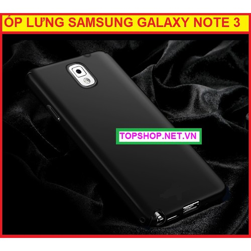 ỐP LƯNG SILICON SAMSUNG GALAXY NOTE 3