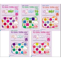 Combo 5 cuốn Phát triển tư duy cùng Thỏ cho bé 3-4 tuổi