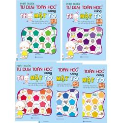 Combo 5 cuốn Phát triển tư duy cùng thỏ mặt to cho bé 4- 5 tuổi