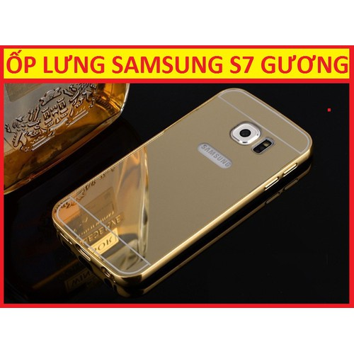 ỐP LƯNG TRÁNG GƯƠNG SAMSUNG GALAXY S7