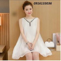 Đầm bầu thời trang Hàn Quốc mới Váy bầu đầm suông WND2WA