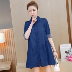 Đầm Jean Suông Thời Trang