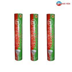 Combo 03 ống quả cầu lông HẢI YẾN loại 12 quả - ống