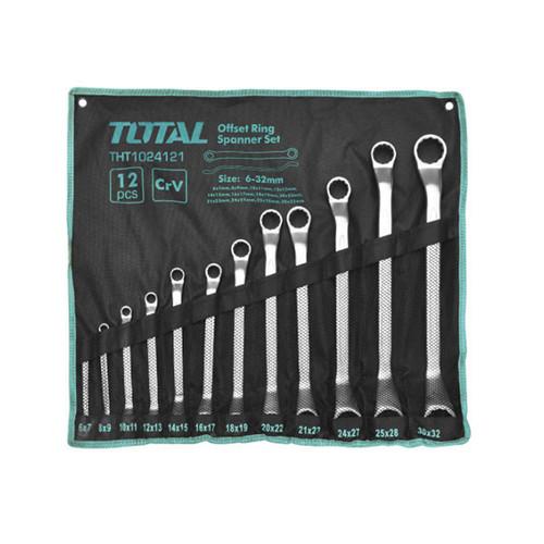 6-32mm Bộ cờ lê hai đầu vòng 12 chi tiết Total THT1024121 - 5626782 , 9503993 , 15_9503993 , 737000 , 6-32mm-Bo-co-le-hai-dau-vong-12-chi-tiet-Total-THT1024121-15_9503993 , sendo.vn , 6-32mm Bộ cờ lê hai đầu vòng 12 chi tiết Total THT1024121