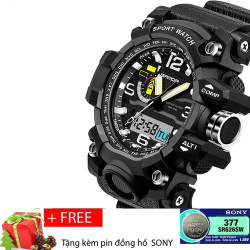 Đồng hồ thể thao nam chống nước SANDA S732 + Tặng pin đồng hồ Sony - 5012637 , 9505117 , 15_9505117 , 379000 , Dong-ho-the-thao-nam-chong-nuoc-SANDA-S732-Tang-pin-dong-ho-Sony-15_9505117 , sendo.vn , Đồng hồ thể thao nam chống nước SANDA S732 + Tặng pin đồng hồ Sony