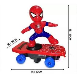 Bộ đồ chơi người nhện trượt ván