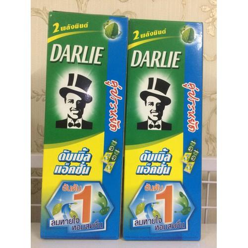 Kem đánh răng Darlie Thái Lan - Hộp 2 tuýp hương bạc hà - 5626434 , 9503433 , 15_9503433 , 69000 , Kem-danh-rang-Darlie-Thai-Lan-Hop-2-tuyp-huong-bac-ha-15_9503433 , sendo.vn , Kem đánh răng Darlie Thái Lan - Hộp 2 tuýp hương bạc hà