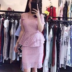 Váy Ôm Nhiều Màu Xòe Eo