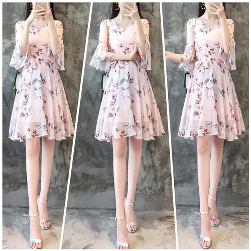 Đầm maxi nữ hoa dễ thương MX2087