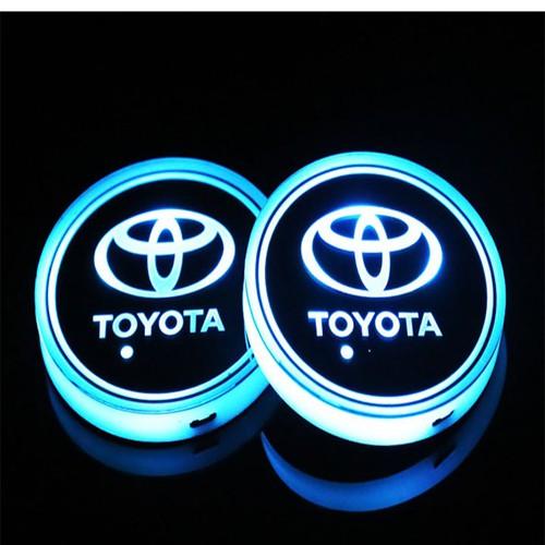 đồ chơi oto-Lót hộc xe oto có đèn led