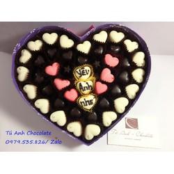 Socola quà tặng valentine đẹp, giá rẻ