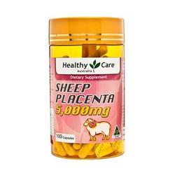 VIÊN NHAU THAI CỪU HEALTHY CARE SHEEP PLACENTA 5000MG 100 VIÊN