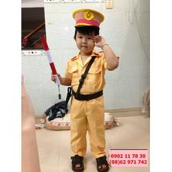 Quần áo công an trẻ em giá rẻ toàn quốc