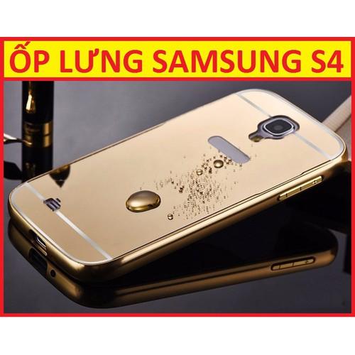 ỐP LƯNG TRÁNG GƯƠNG SAMSUNG S4
