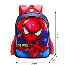Ba lô đi học người nhện Spideman đầu to