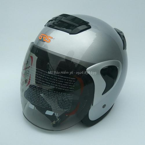 Mũ bảo hiểm 3/4 grs a370k