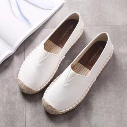 Giày mọi da nữ - Phong cách Hàn Quốc