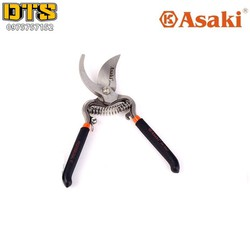 Kéo cắt cành, tỉa cành tay dạ lưỡi cong Asaki AK-8647 8inch-200mm