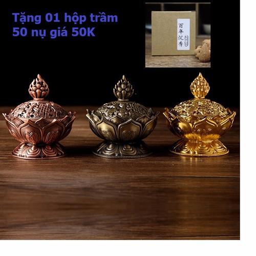 Lư hương đốt trầm  bằng đồng - 5635965 , 9521213 , 15_9521213 , 390000 , Lu-huong-dot-tram-bang-dong-15_9521213 , sendo.vn , Lư hương đốt trầm  bằng đồng
