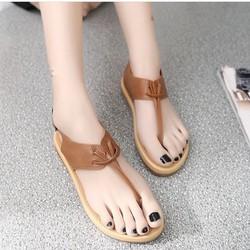 Giày sandal bệt quai kẹp thắt dây