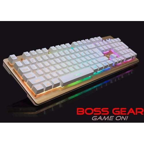 Bàn Phím Chuyên Game giả cơ LangTu K002 LED RGB