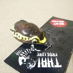 Mồi Câu Nhai Giả Mồi Lure Frog Stoon Thái Lan Siêu Hot
