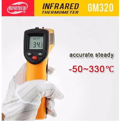 Nhiệt kế Hồng Ngoại đo nhiệt độ máy và cơ thể GM-320