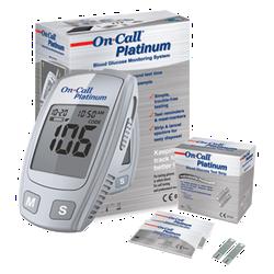 Máy đo đường huyết ON-CALL Platinum - ON-CALL Platinum
