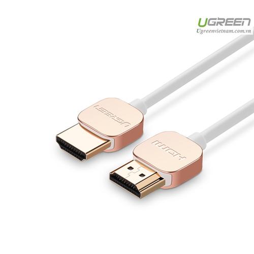 Cáp HDMI dài 1M chuẩn 2.0 Chính hãng Ugreen 10474 cao cấp