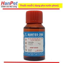 Thuốc muỗi, ruồi, kiến, gián HANTOX 50ml,
