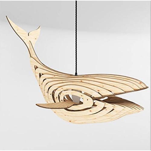 Đèn thả hình cá voi