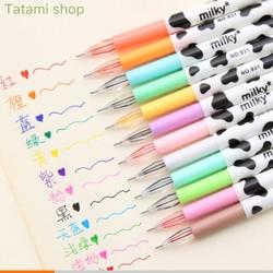 Bút bi nước nhiều màu