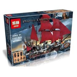 Lắp ráp mô hình con tàu sự trả thù của Nữ Hoàng Anne - 1151 khối