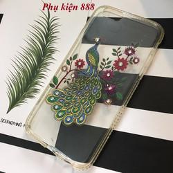 Ốp lưng silicon dẻo Iphone 6, 6S hình con công