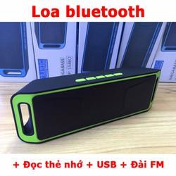 Loa bluetooth đa năng cho điện thoại hỗ trợ đọc thẻ nhớ usb có đài FM