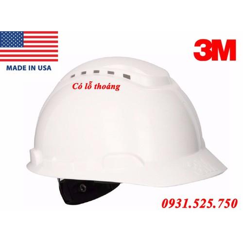 Mũ bảo hộ 3M-H701 có lỗ thoáng