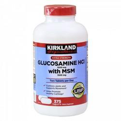 VIÊN BỔ KHỚP Kirkland Glucosamine HCI With MSM 1500mg 375V