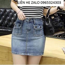 váy jean cao cấp sendo
