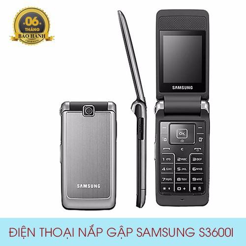 Điện thoại dành cho người già Samsung S3600i nắp gập