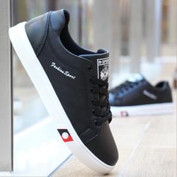 Giày thể thao nam trắng da cao cấp siêu mềm siêu nhẹ 2 màu trắng ,đen