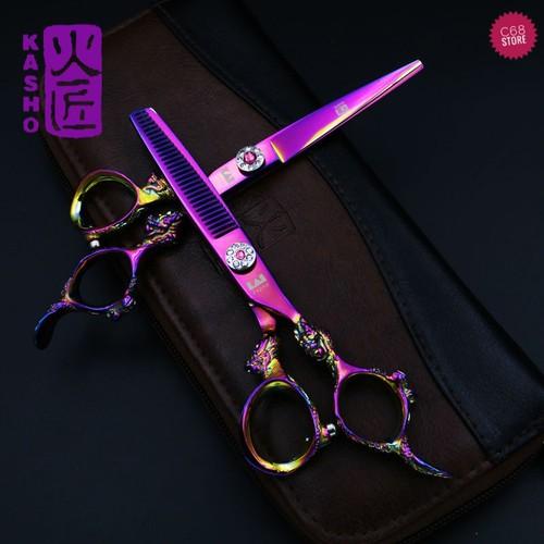 Bộ kéo cắt tỉa tóc KASHO rồng tím Japan - 5642701 , 9533097 , 15_9533097 , 765000 , Bo-keo-cat-tia-toc-KASHO-rong-tim-Japan-15_9533097 , sendo.vn , Bộ kéo cắt tỉa tóc KASHO rồng tím Japan