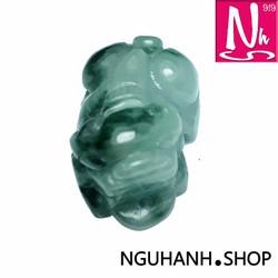 NHS001.68-Mặt dây chuyền Tỳ hưu ngọc Phỉ thúy
